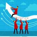 stock-vector-maintaining-profits-higher-129209864